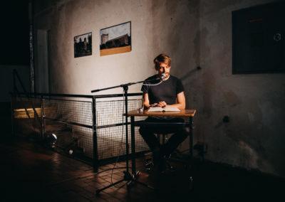 Jakob Fischer liest Prozess
