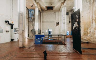 interner Rundgang durchs Kesselhaus den Kunstort der Zukunft